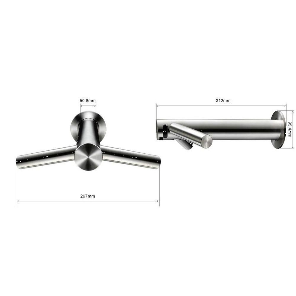 dyson airblade tap wall